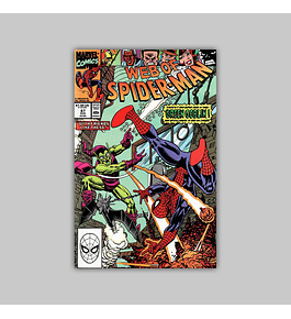 Web of Spider-Man 67 1990