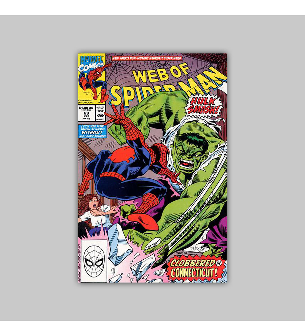 Web of Spider-Man 69 1990
