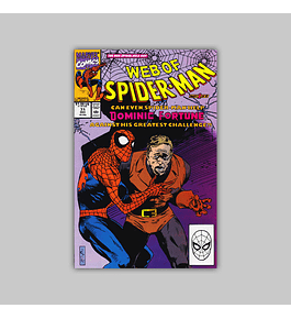 Web of Spider-Man 71 1990