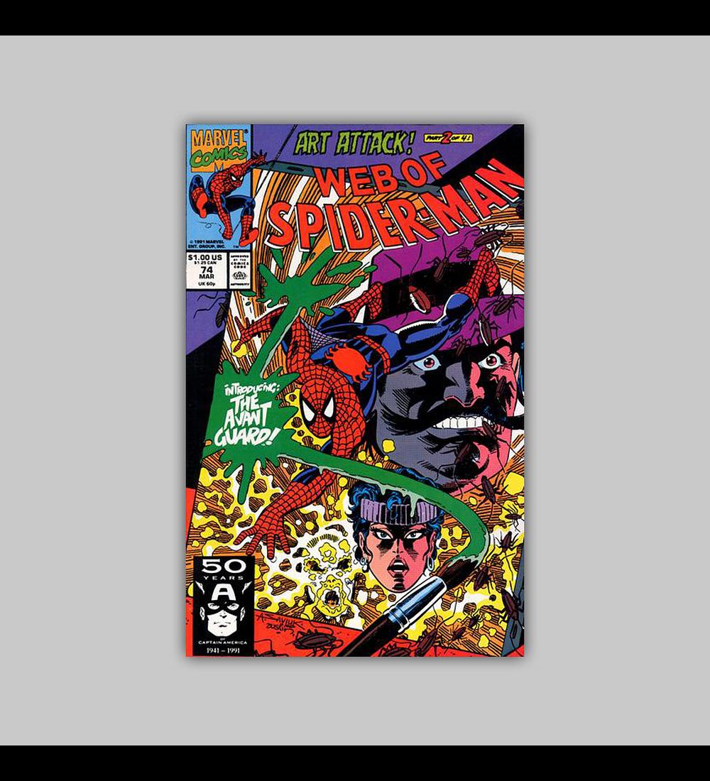 Web of Spider-Man 74 1991