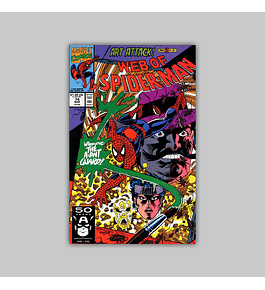 Web of Spider-Man 74 1991