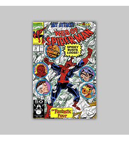 Web of Spider-Man 76 1991