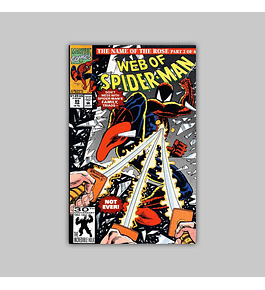 Web of Spider-Man 85 1992