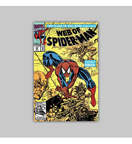 Web of Spider-Man 87 1992