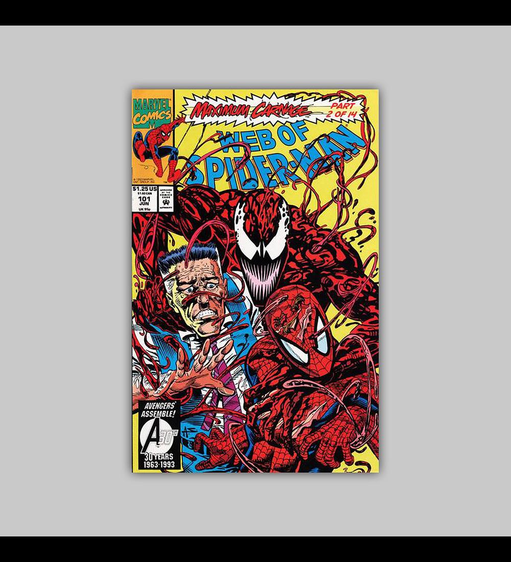 Web of Spider-Man 101 1992