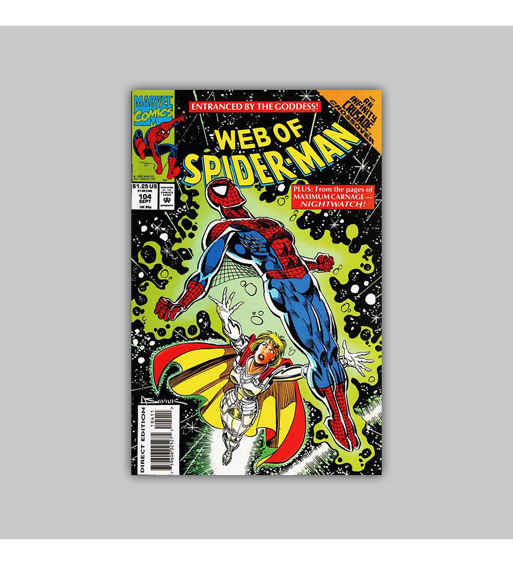 Web of Spider-Man 104 1992