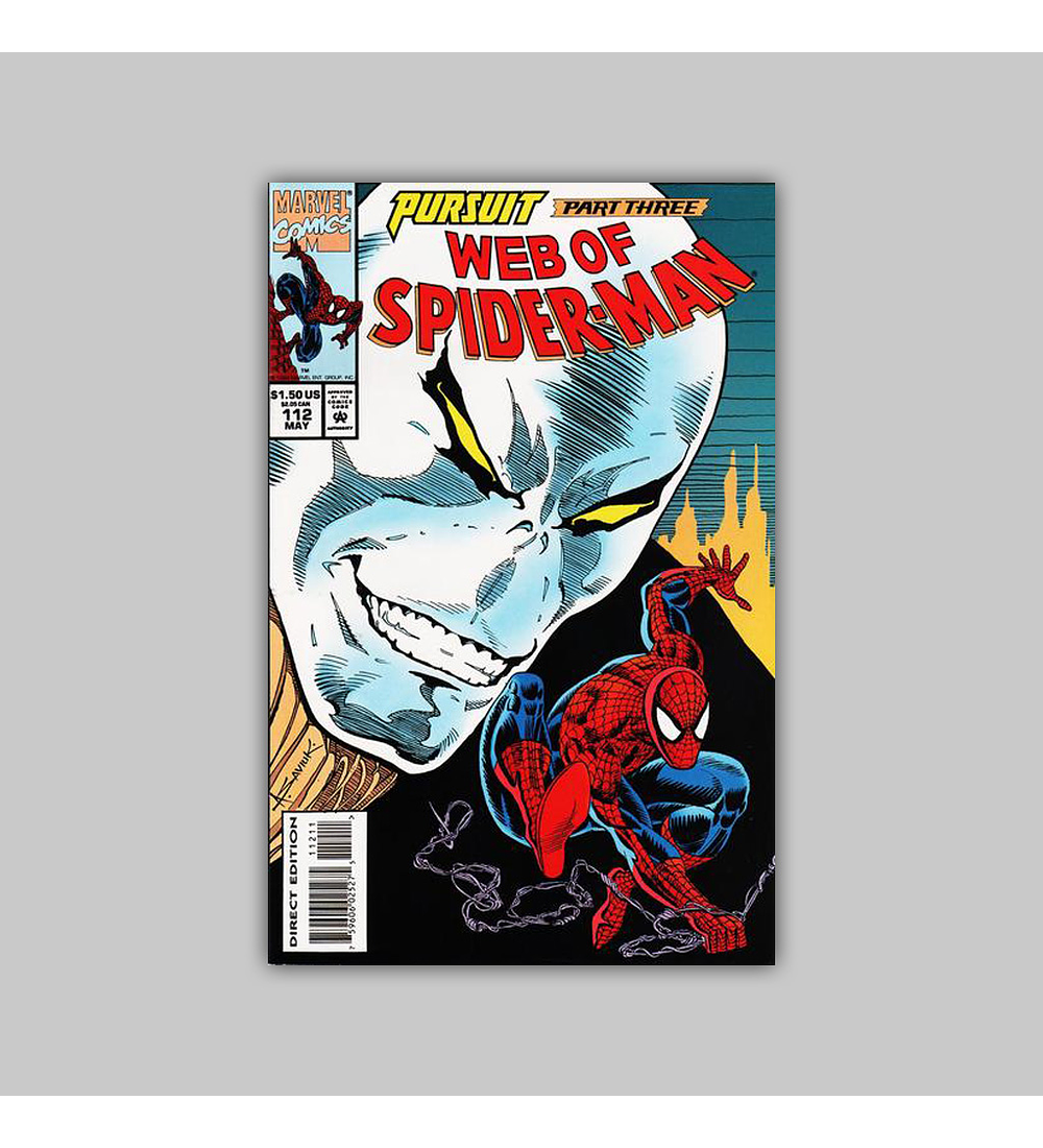Web of Spider-Man 112 1993