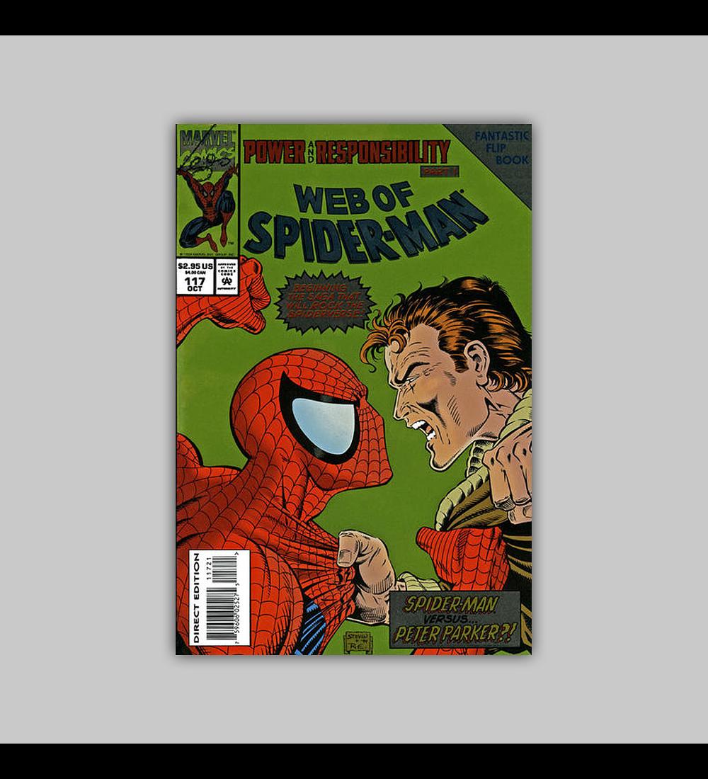 Web of Spider-Man 117 Foil 1993