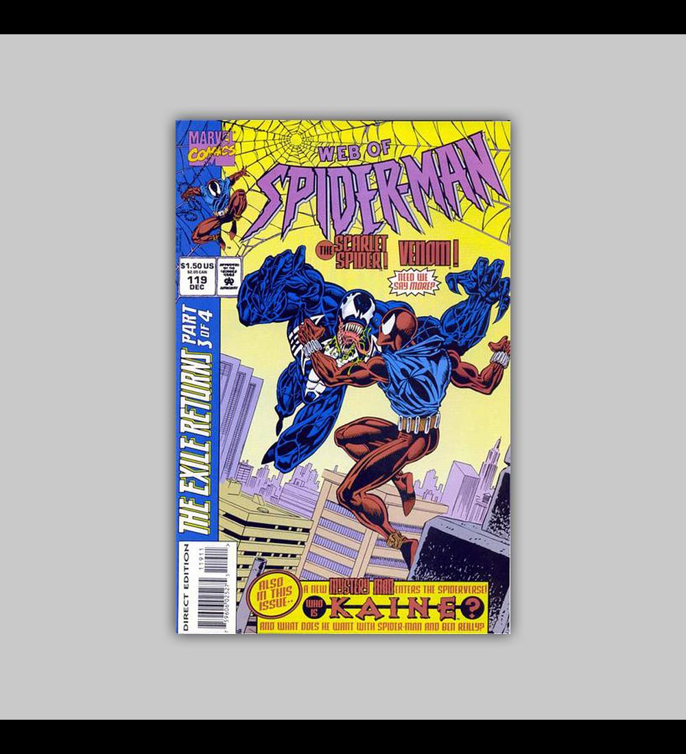 Web of Spider-Man 119 VF/NM (9.2) 1993