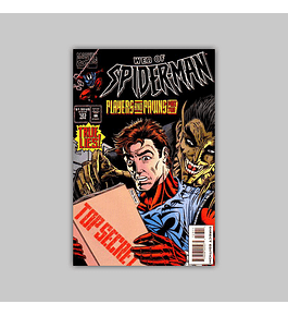 Web of Spider-Man 123 1995