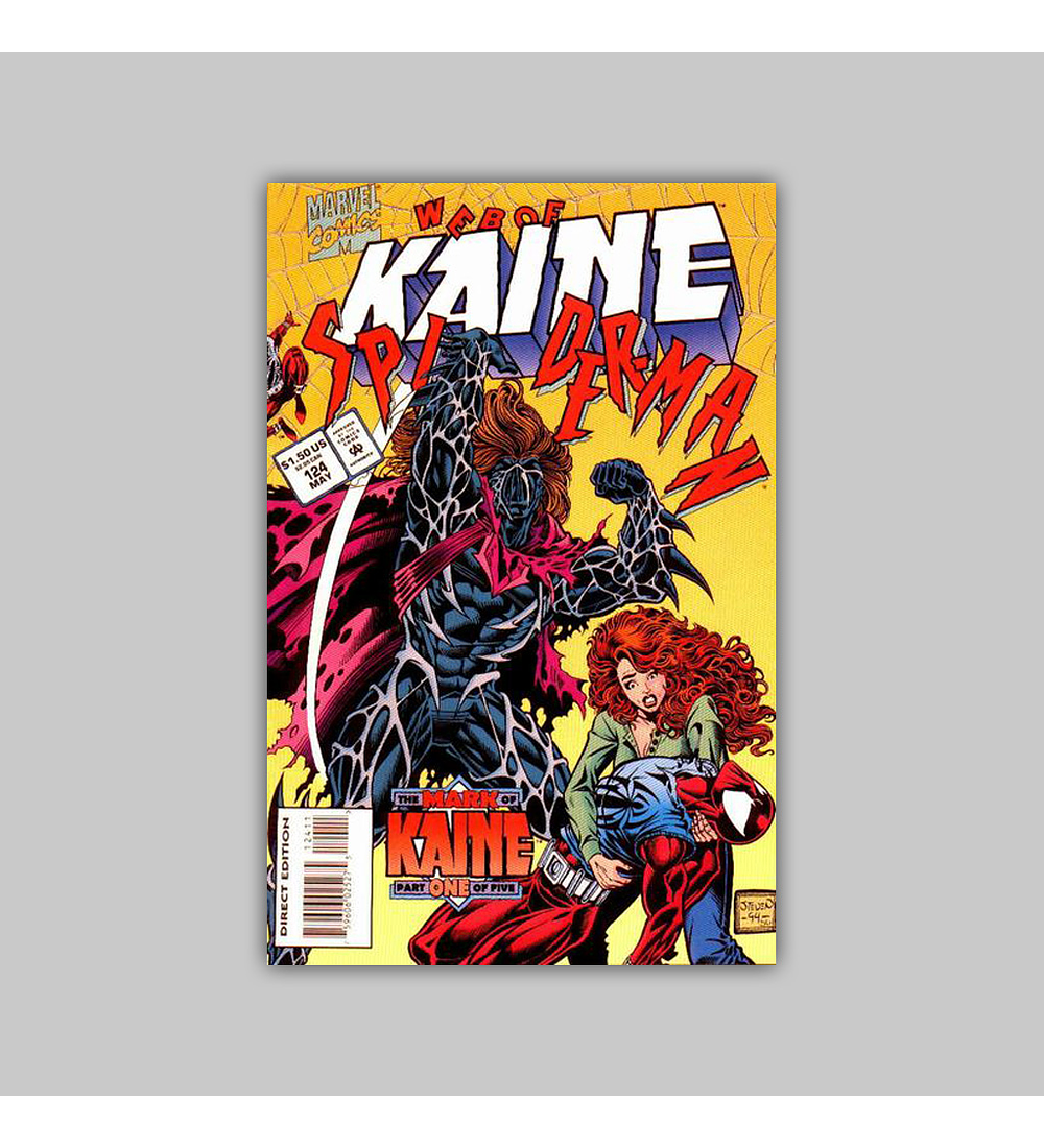 Web of Spider-Man 124 1995