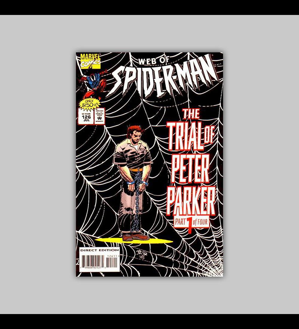 Web of Spider-Man 126 1995