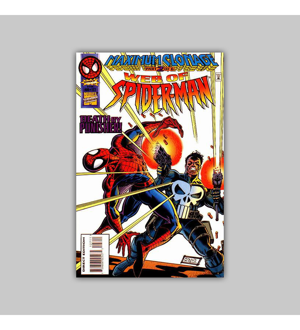 Web of Spider-Man 127 1995