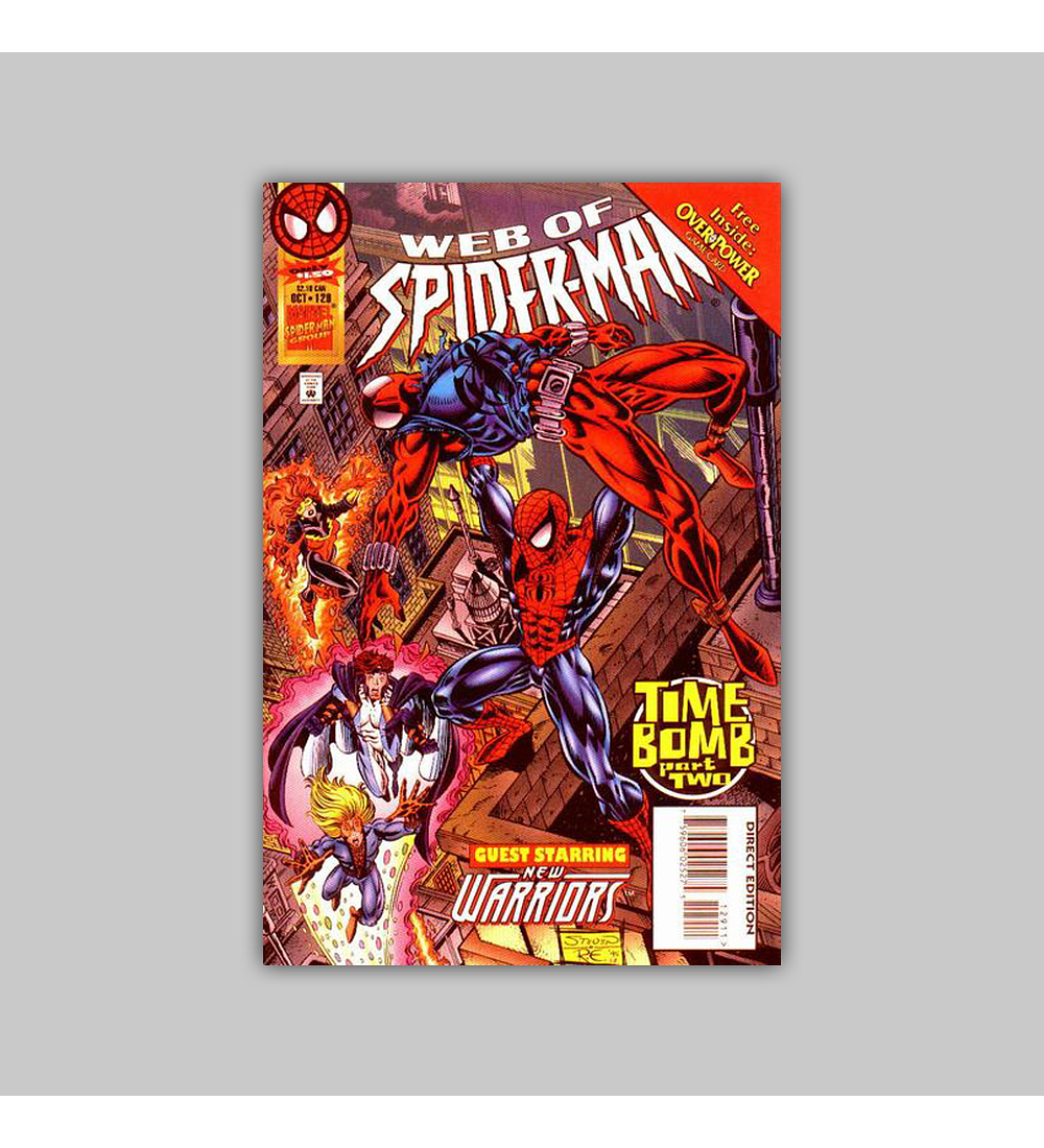 Web of Spider-Man 129 1995