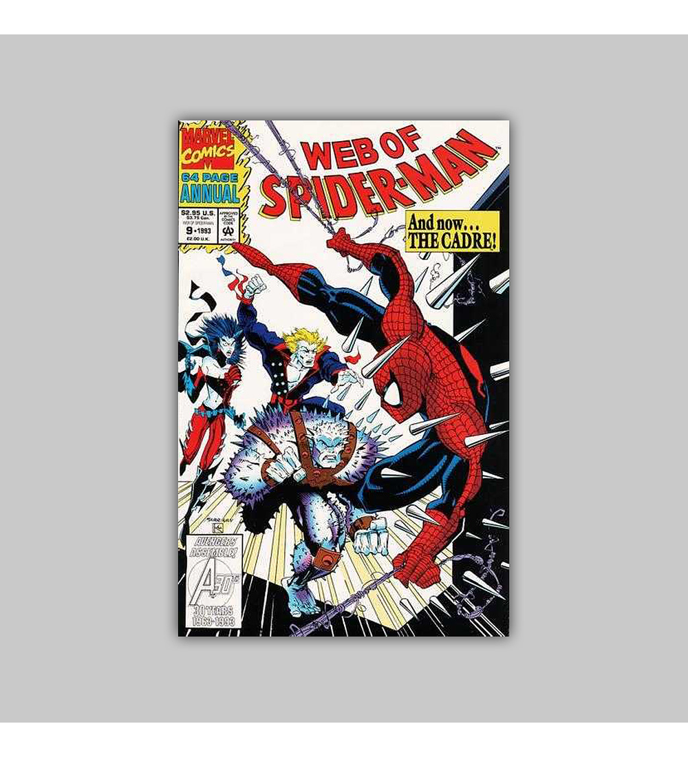 Web of Spider-Man Annual 9 1993
