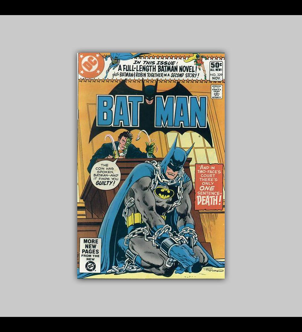 Batman 329 1980