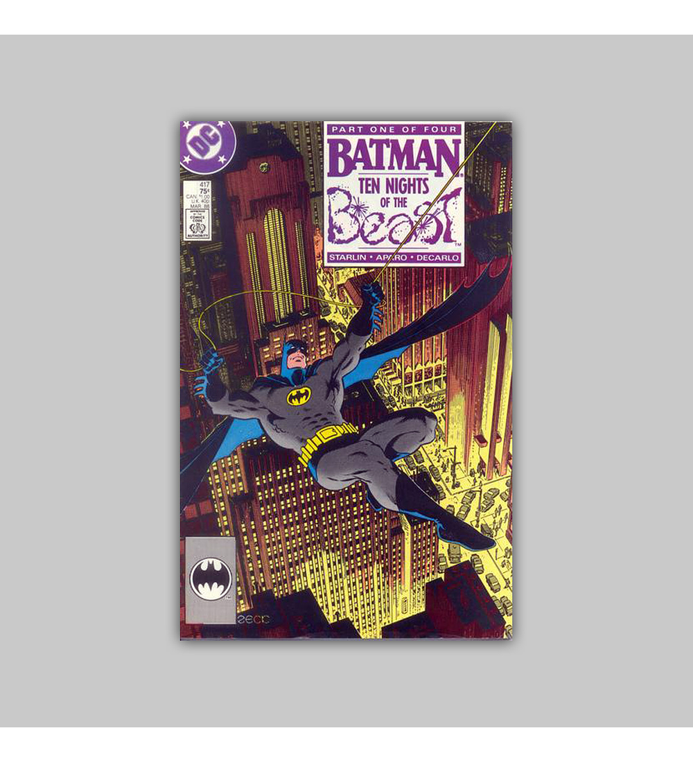 Batman 417 1988