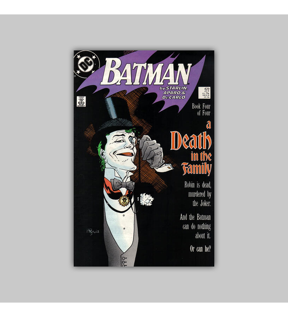 Batman 429 1989