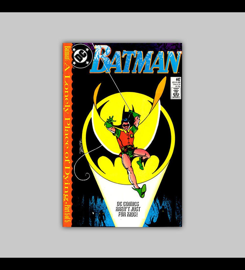 Batman 442 1989