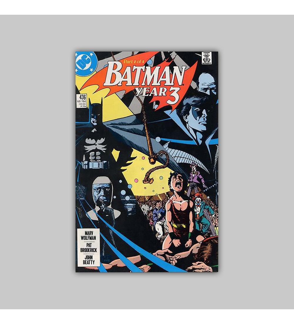 Batman 436 1989