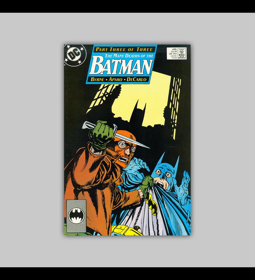 Batman 435 1989
