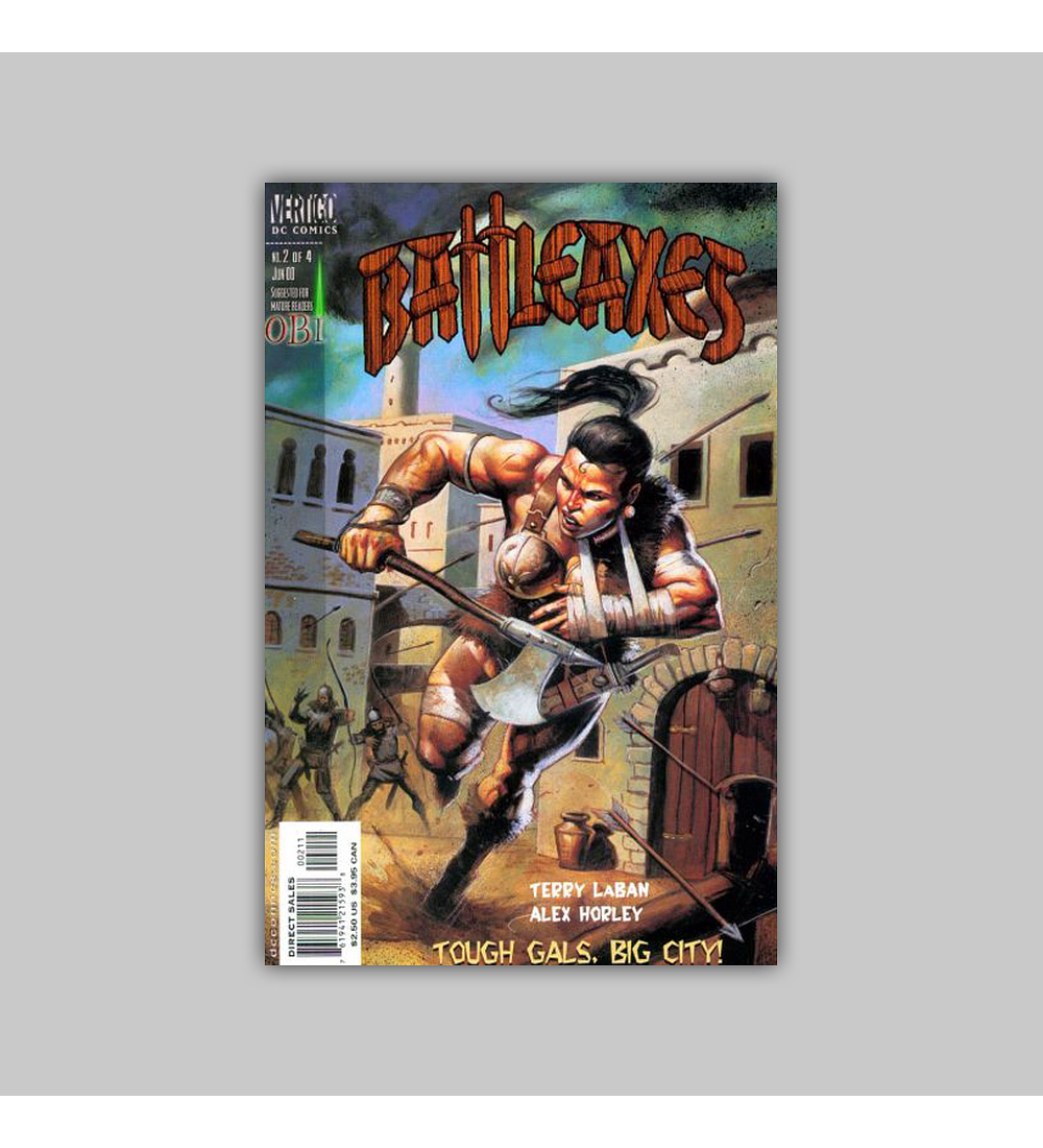 Battleaxes 2 VF (8.0) 2000