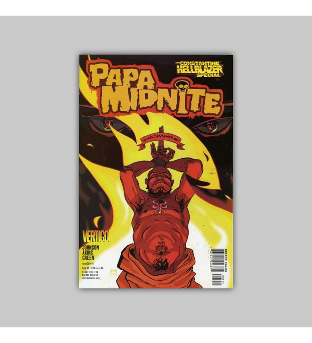 John Constantine - Hellblazer Special: Papa Midnite 5 2005