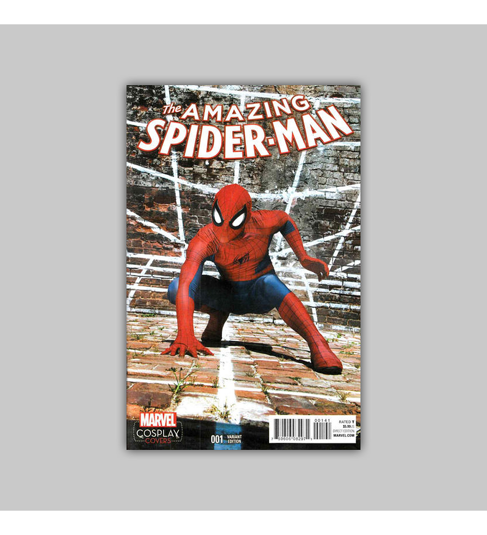 Amazing Spider-Man (Vol. 4) 1 D 2015