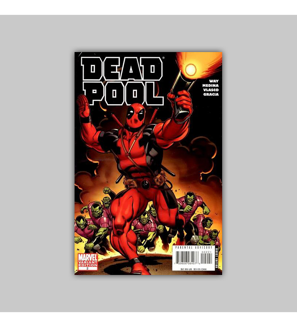 Deadpool (Vol. 2) 2 B 2008