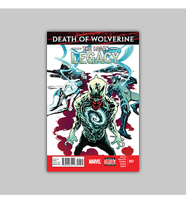 Death of Wolverine: Logan Legacy 7 2015