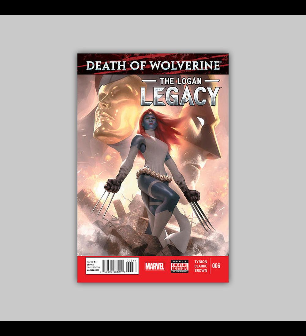 Death of Wolverine: Logan Legacy 6 2015