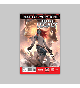 Death of Wolverine: Logan Legacy 6 2015