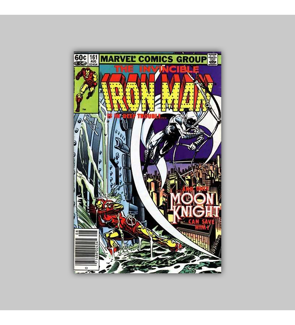 Iron Man 161 VF/NM (9.0) 1982