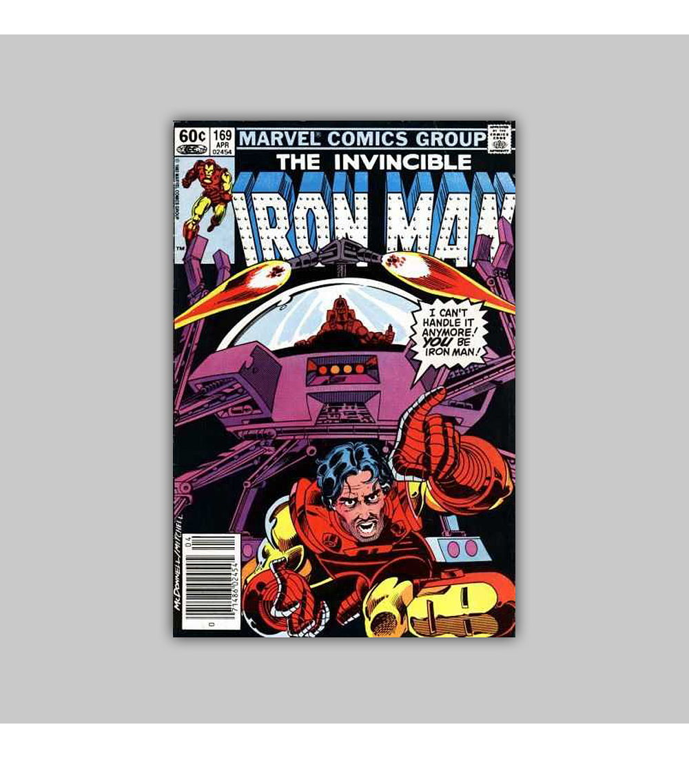 Iron Man 169 NM (9.4) 1983