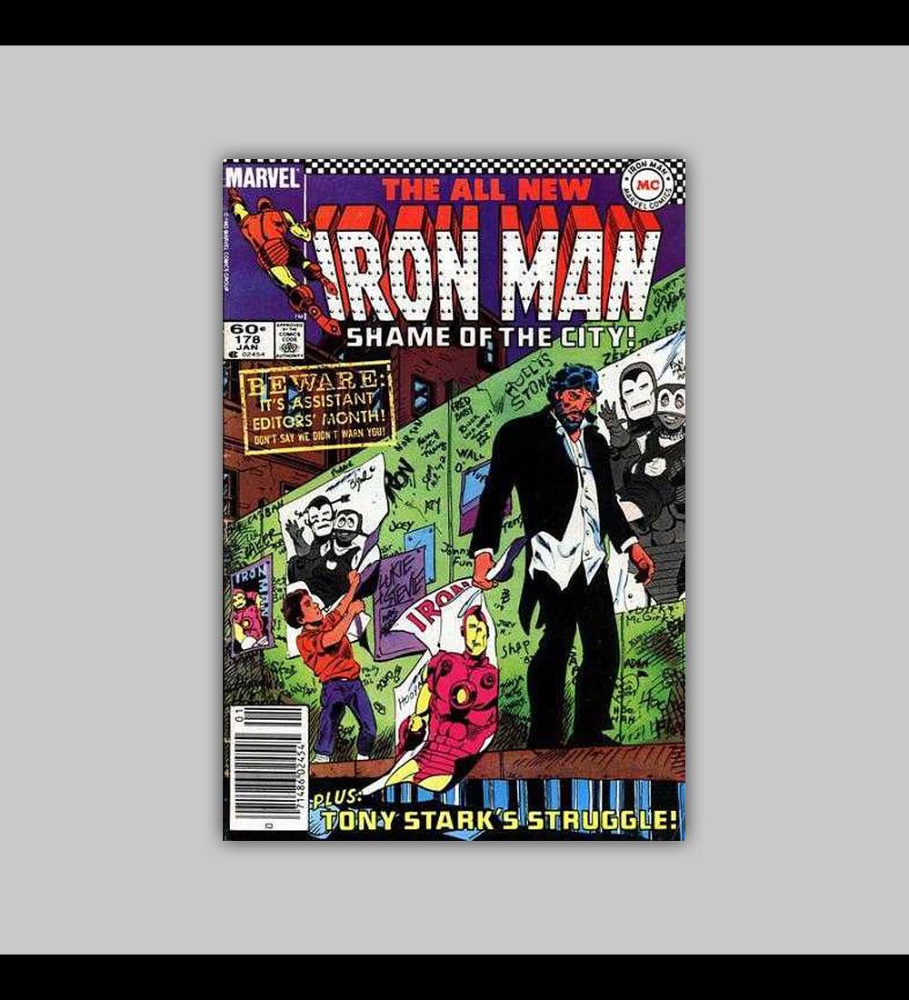 Iron Man 178 NM (9.4) 1984
