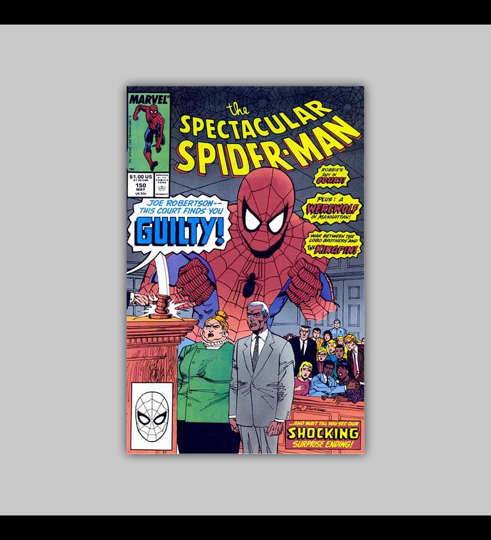 Spectacular Spider-Man 150 1989