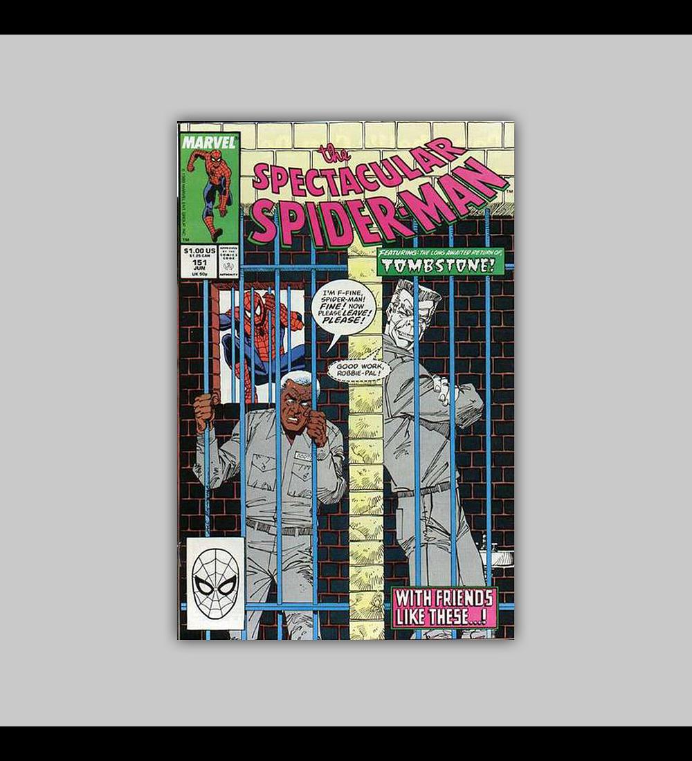 Spectacular Spider-Man 151 1989