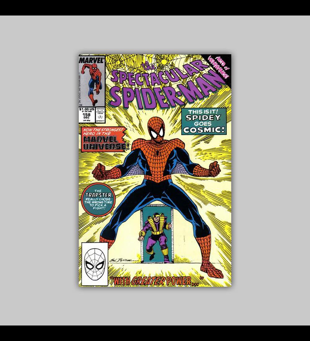 Spectacular Spider-Man 158 1989