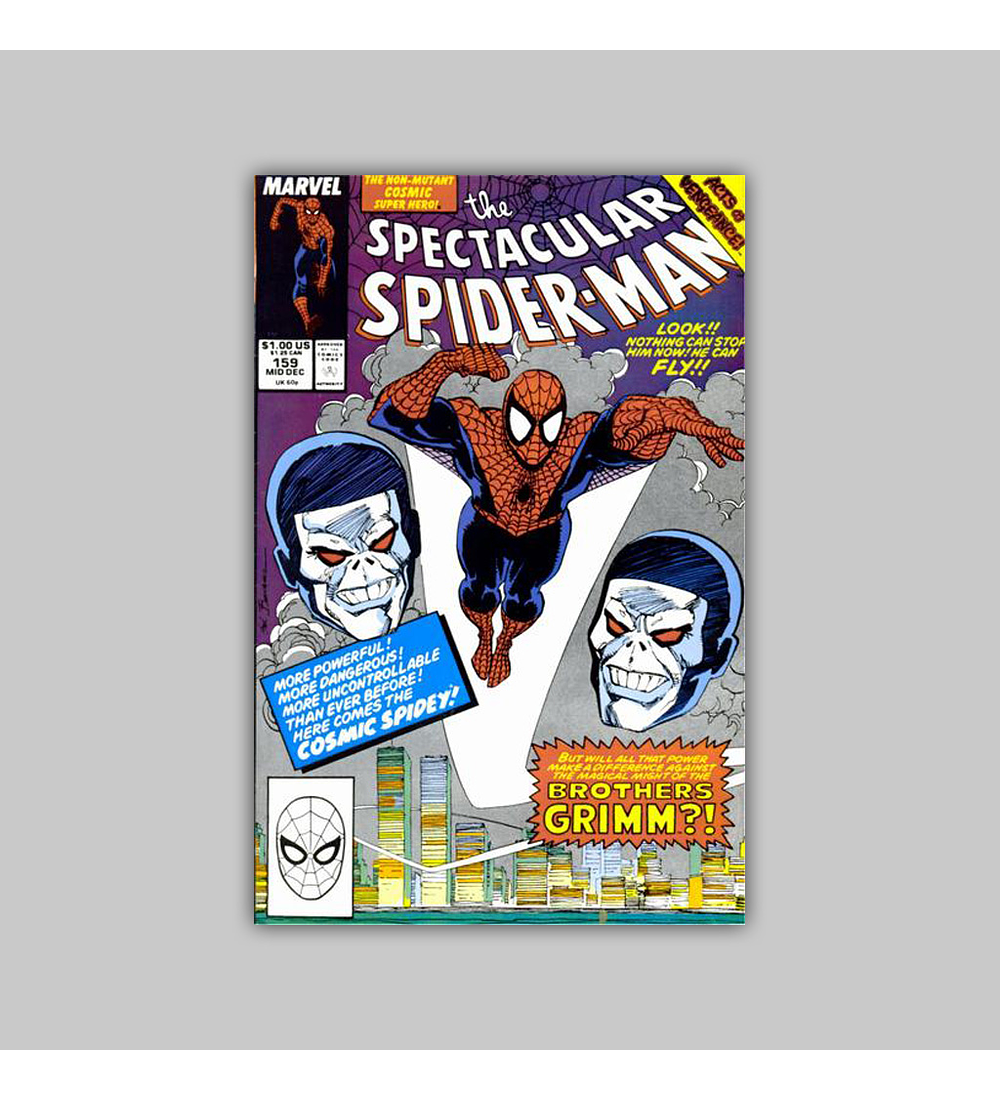 Spectacular Spider-Man 159 1989