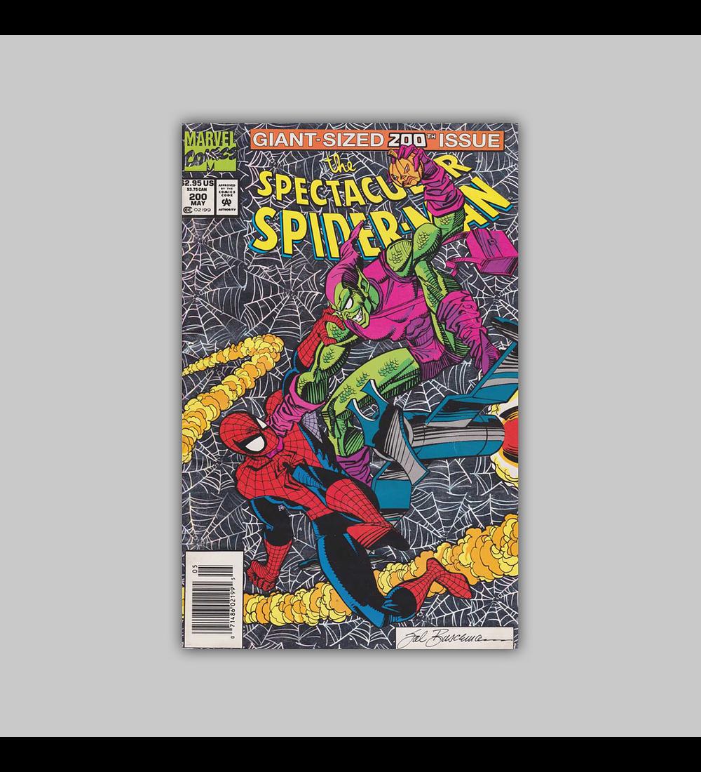 Spectacular Spider-Man 200 Foil 1993