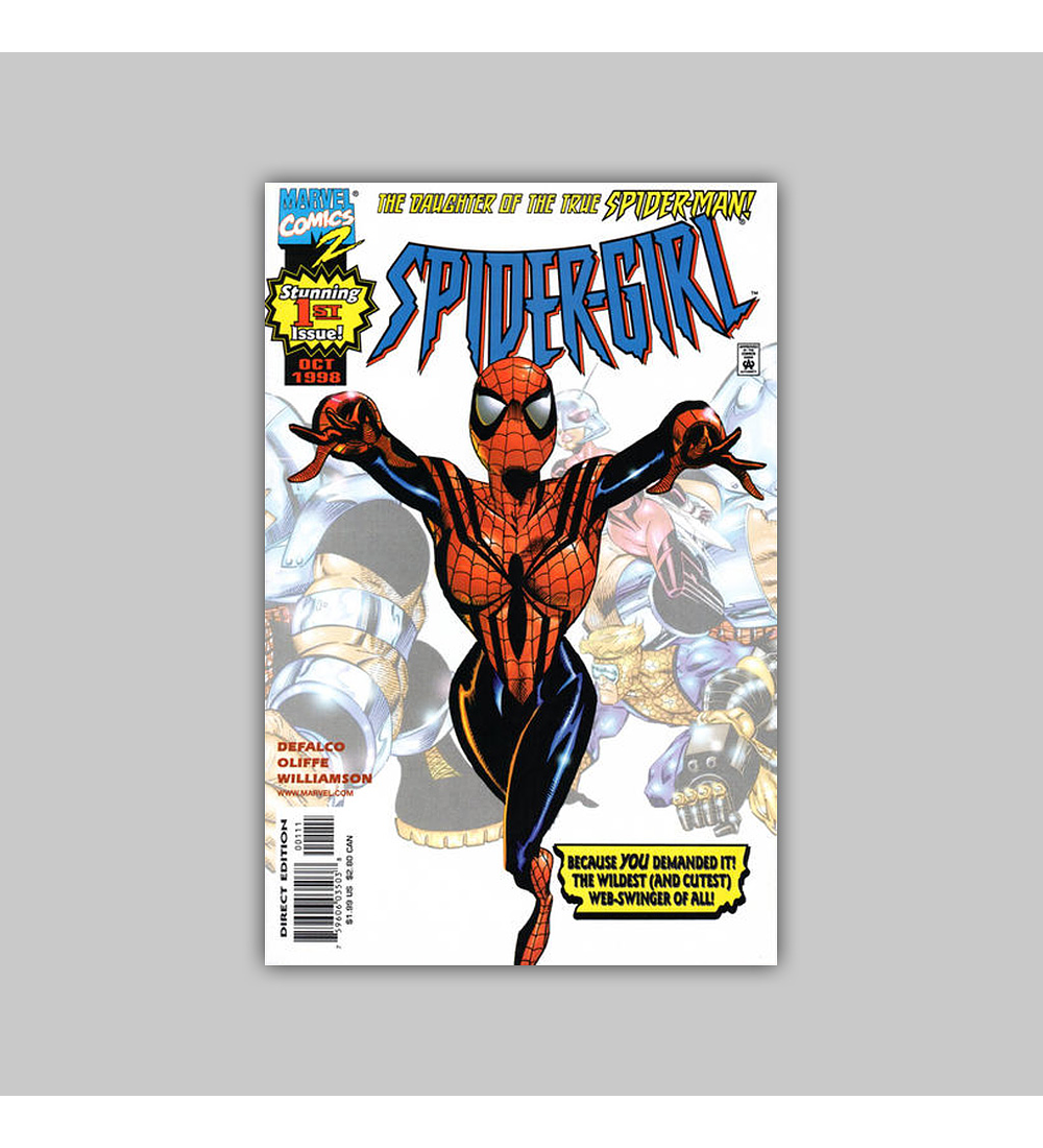 Spider-Girl 1 1998