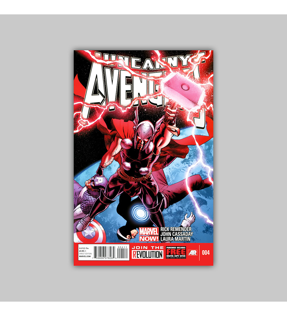 Uncanny Avengers 4 2013