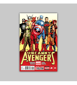 Uncanny Avengers 5 2013