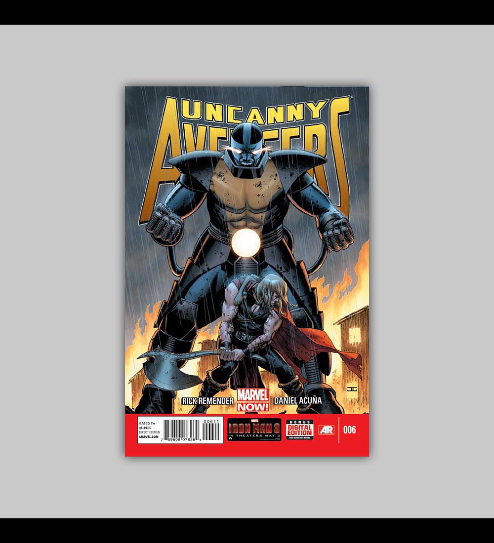 Uncanny Avengers 6 2013