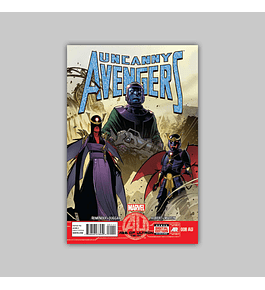 Uncanny Avengers 8 Age of Ultron 2013