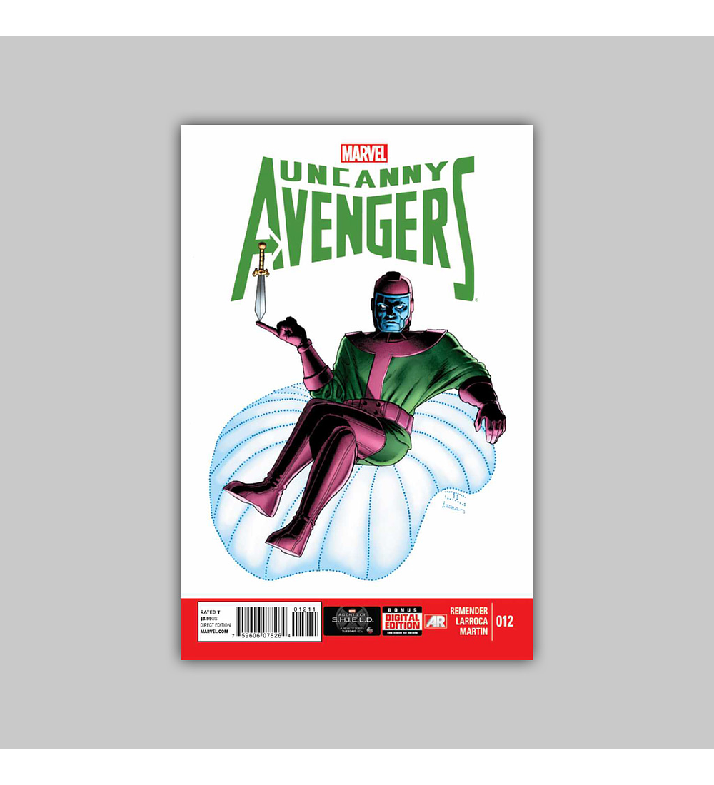 Uncanny Avengers 12 2013