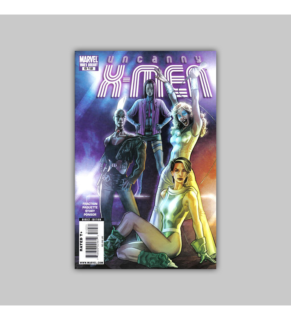 Uncanny X-Men 512 B 2009
