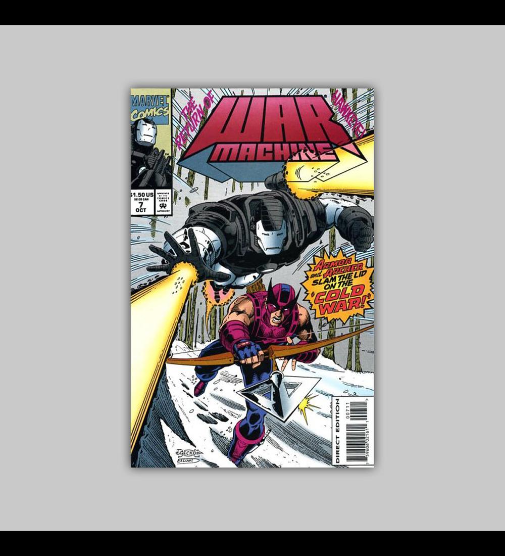 War Machine 7 1994