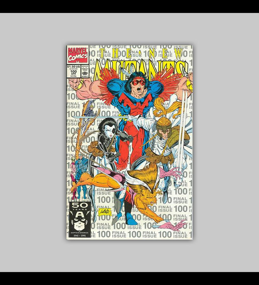 New Mutants 100 Silver 3rd. Printing 1991