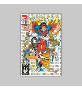 New Mutants 100 Silver 3rd. Printing 1991